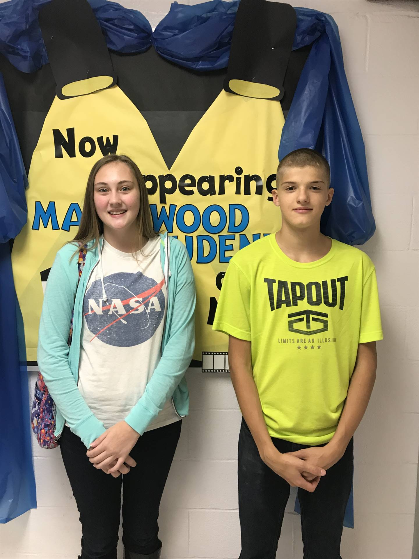October Students of the Month- High School