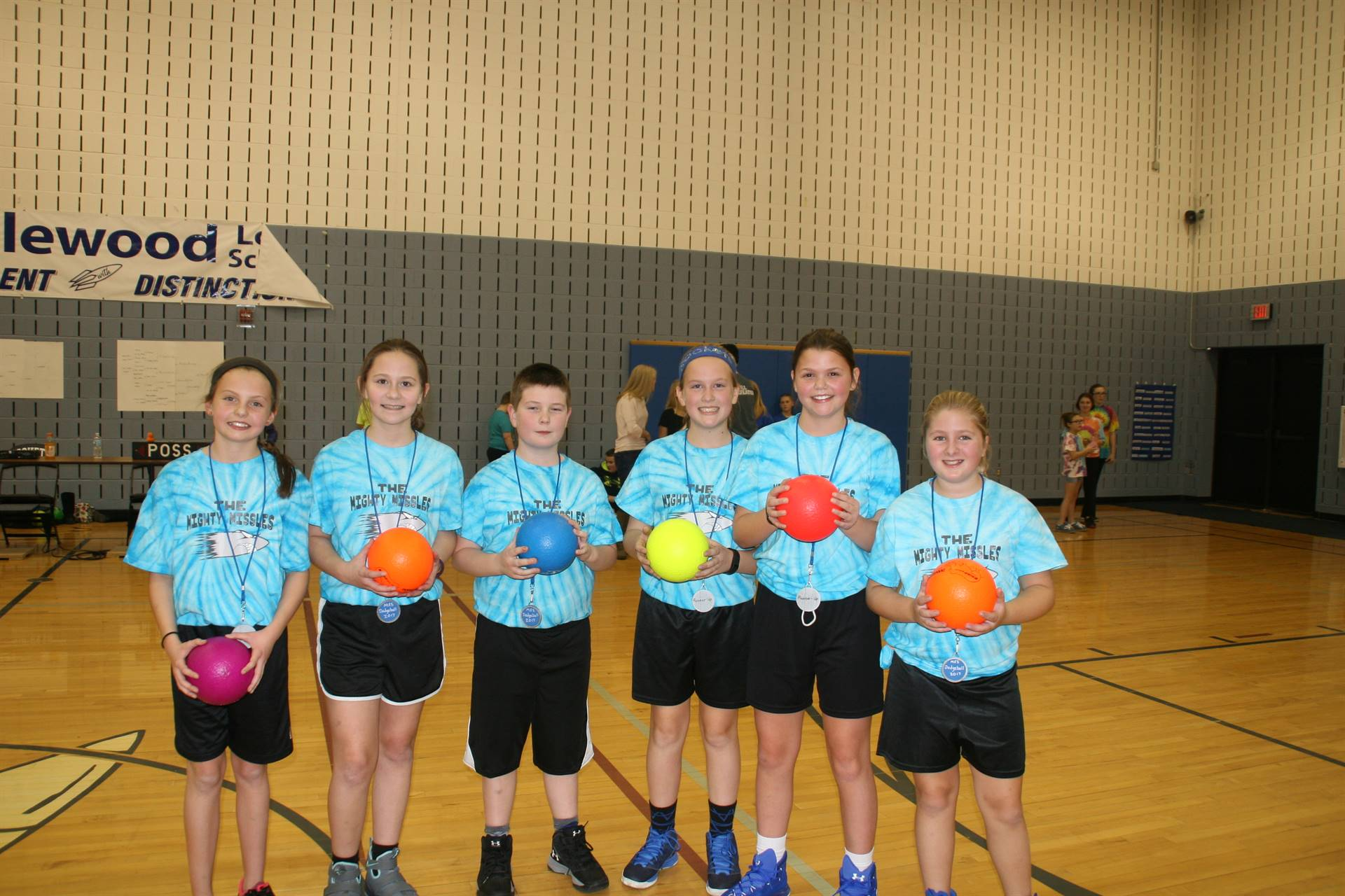 Dodgeball Tournament 5/6 Runner-Up