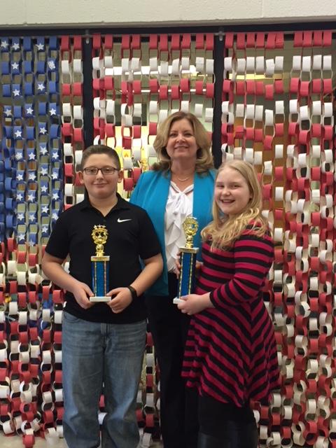 Spelling Bee Winners 1/19/18