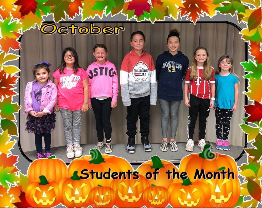 oct students month