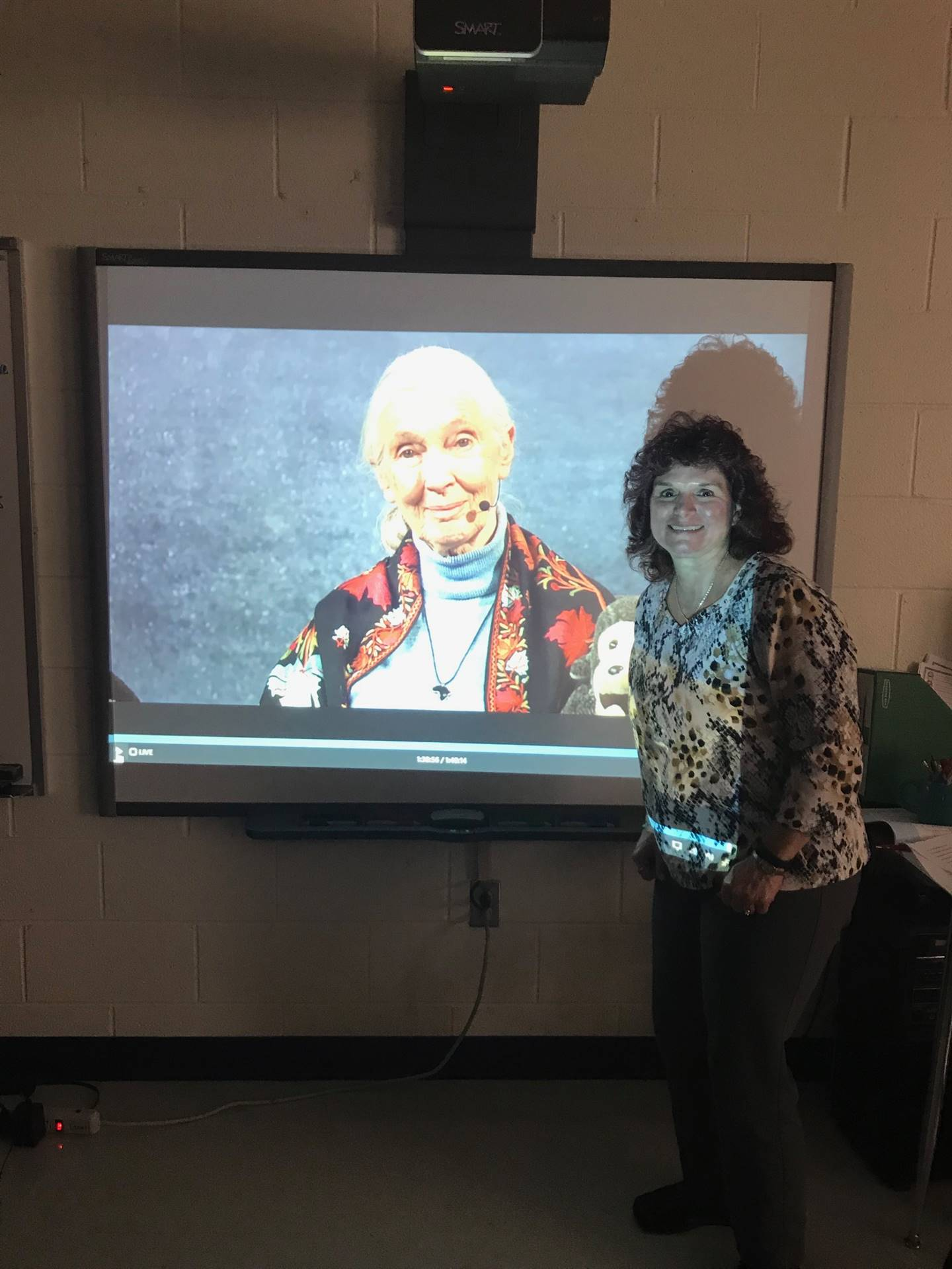 2nd Grade: Skyping with Jane Goodall
