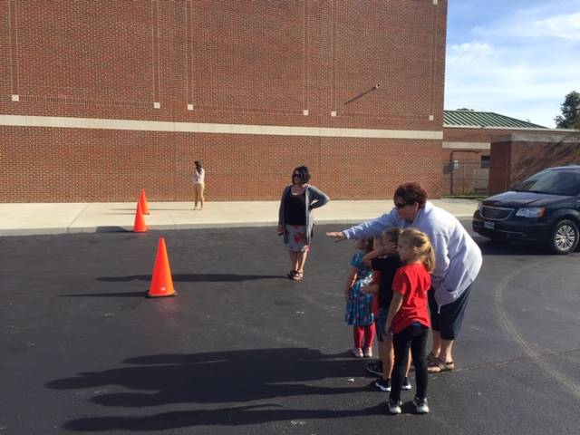 Kindergarten Bus Practice