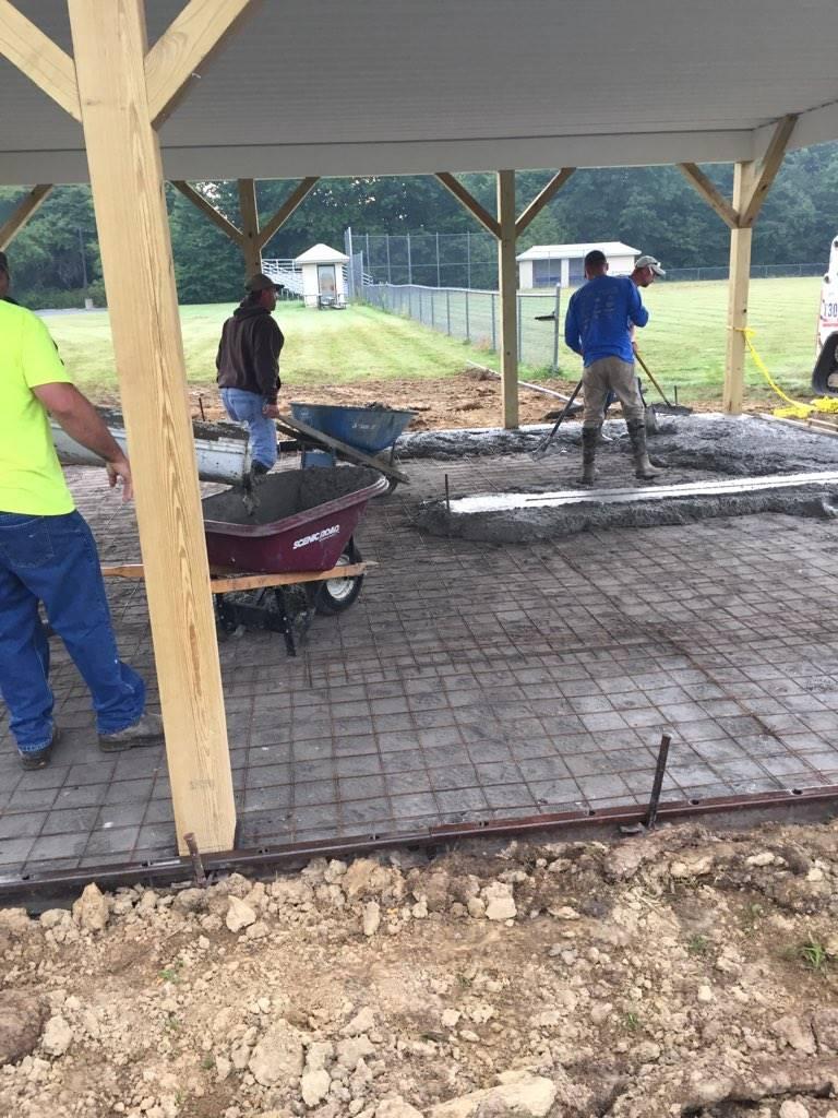 Pavilion Construction